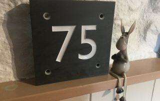 house number with 2 numbers