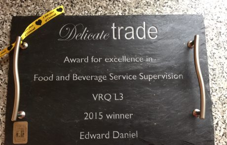Bespoke engraved cheese board