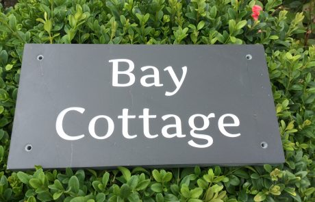 Cornish Slate Sign with Artifiker font