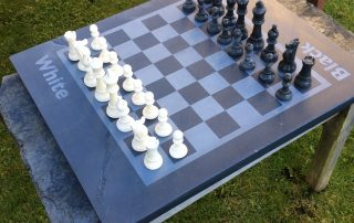 personalise your chess board